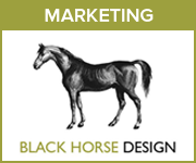 Black Horse Design Marketing (Gloucestershire Horse)